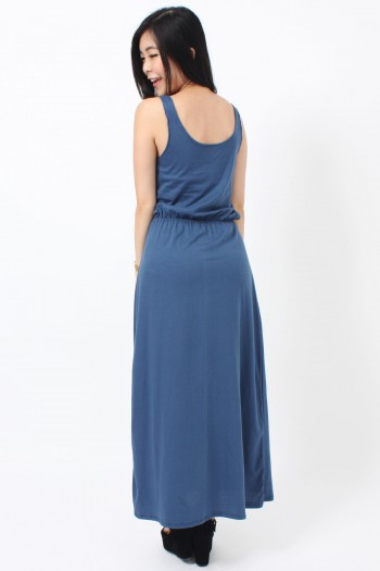 Cut-Out Maxi Dress