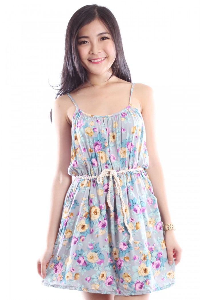 Floral Sundress The Label Junkie