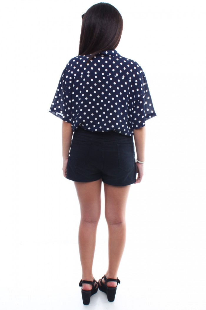 how to make a polka dot shirt