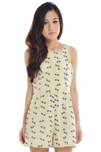 Sparrow Cut-In Romper