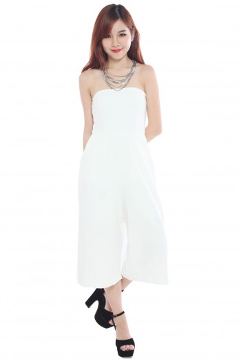 Tube Culottes Jumpsuit