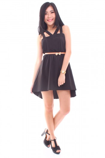 Strappy Hi-Lo Dress