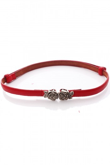Adjustable Rose Clasp Belt