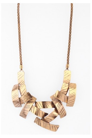 Criss Cross Necklace