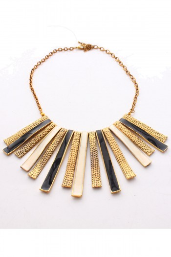 Contrast Plated Necklace