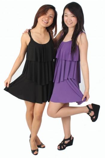 Lycra Tier Dress
