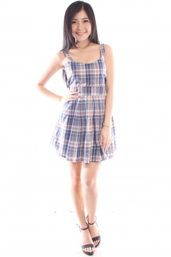 Plaid Skater Dress