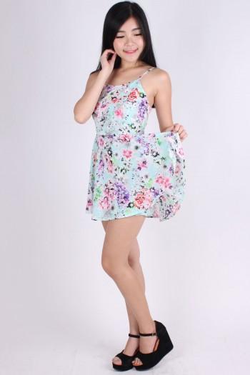 Sakura Skirt Romper