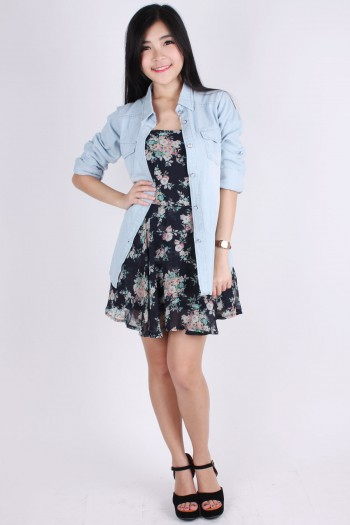 Denim Long Sleeves Shirt