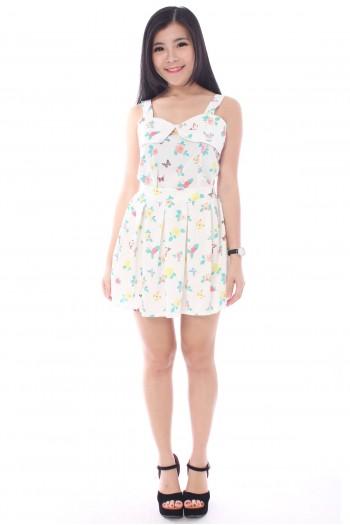 2-Piece Floral Dress