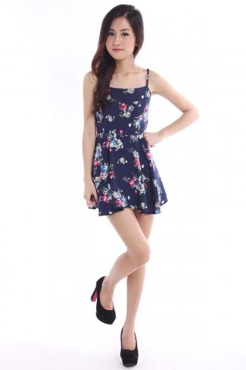 Floral Dress Romper
