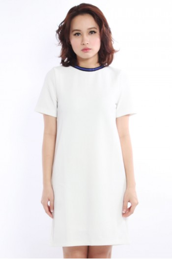 *PREMIUM* Sporty Textured Boxy Shift Dress