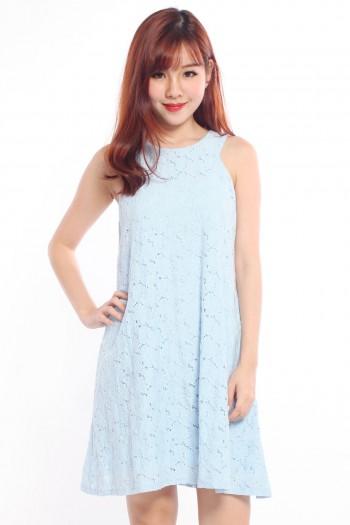 *Premium* Crochet Trapeze Dress