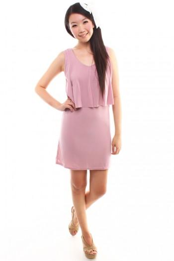 Dress with Flap Bib