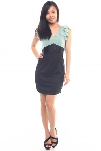 Fluttersleeves Work Dress
