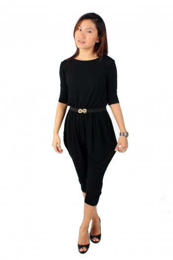 Low Back Harem Jumpsuit