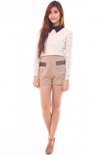 Lace Lined Shorts