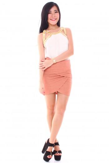 Petal Layered Skirt